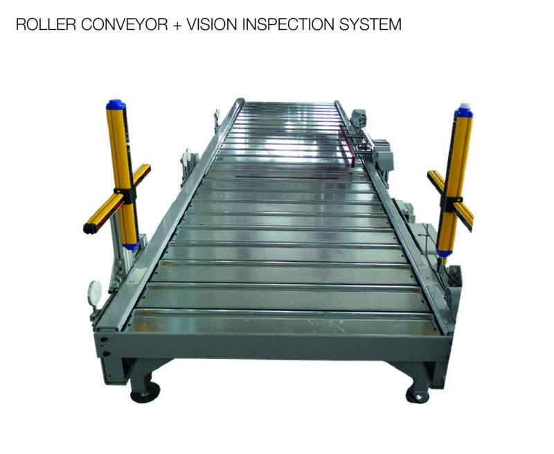 ROLLER CONVEYOR + VISION INSPECTION SYSTEM-01