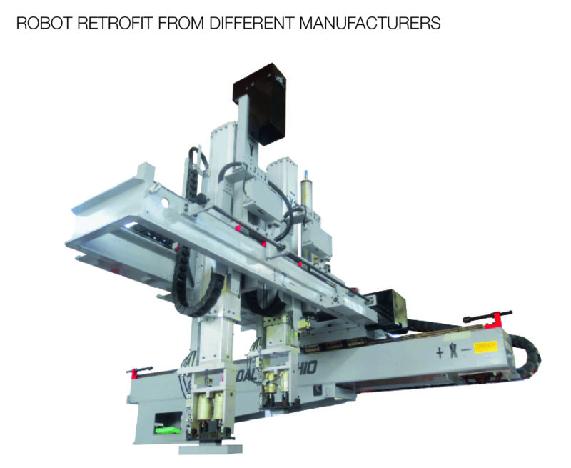 Robot retrofit from different manufacturers